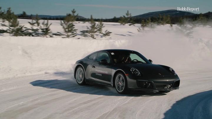 Porsche Ice Experience, el hielo es el maestro