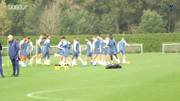 Spurs stars prepare for Lokomotiv Plovdiv