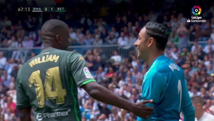 LaLiga: Resumen y Goles del Partido Real Madrid (0) - (2) Betis del 19/05/19 | Vídeo