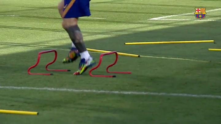 El 7 de septiembre Leo Messi empezó con los entrenamientos