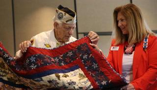 Honoring Pearl Harbor veteran