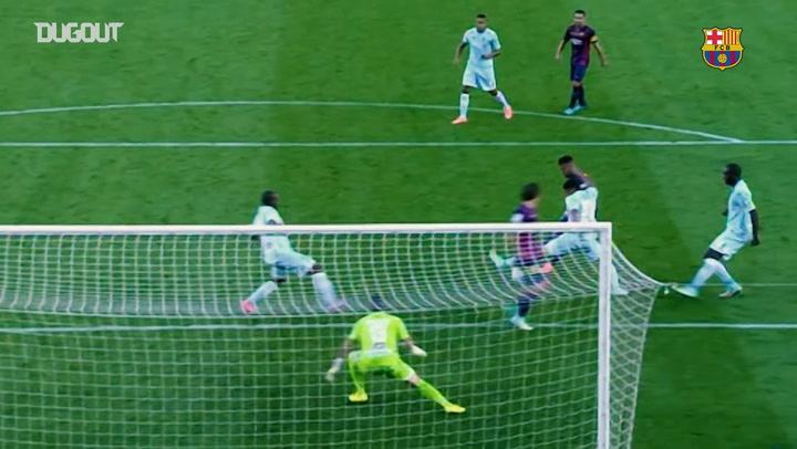 Conexão Messi-Neymar: gols e assistências pelo Barcelona