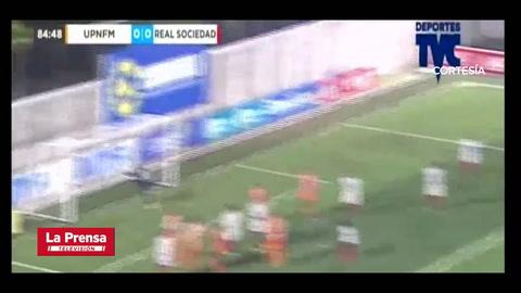 Video: UPN doblega al Real Sociedad y se metió a la pentagonal