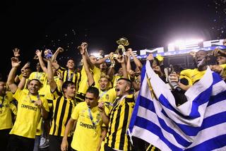 Real España se corona campeón de Copa Premier Centroamericana tras vencer a Olimpia