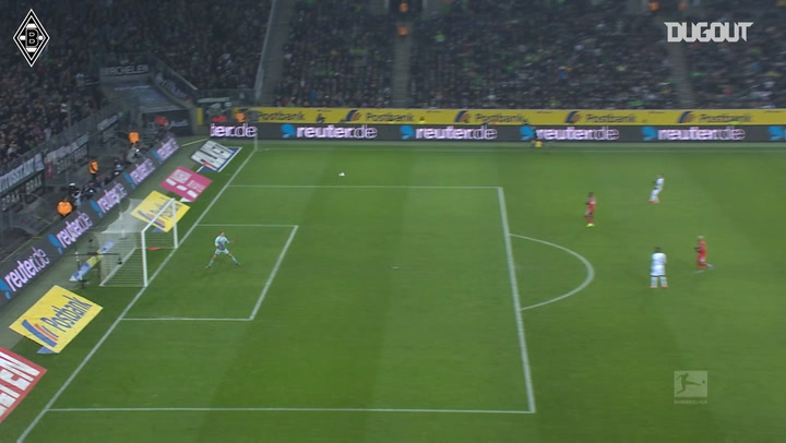 Florian Neuhaus' incredible long-range goal against Mainz