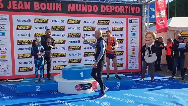 Reyes Estévez y Dolores Chiclana ganan los 10 km Open de la Jean Bouin