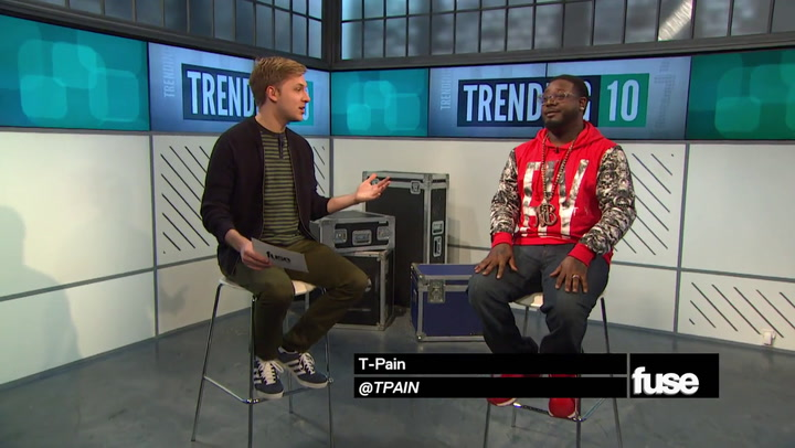 Shows: Trending 10: T-Pain Interview (11/5/14)