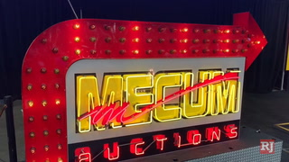 Mecum Auctions rolls into Las Vegas with 1,000 cars on the block