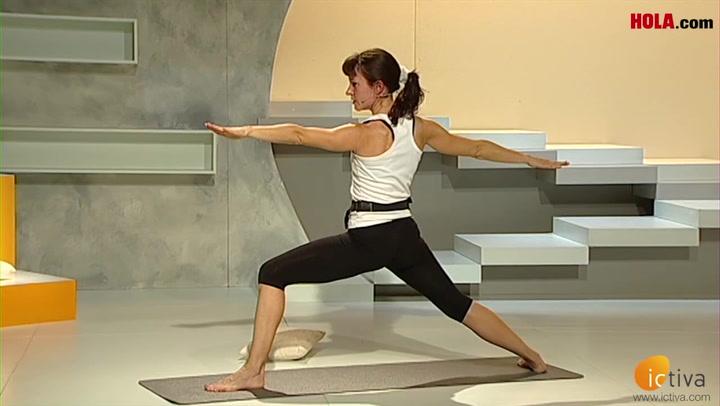 Yoga para ganar fuerza en las piernas