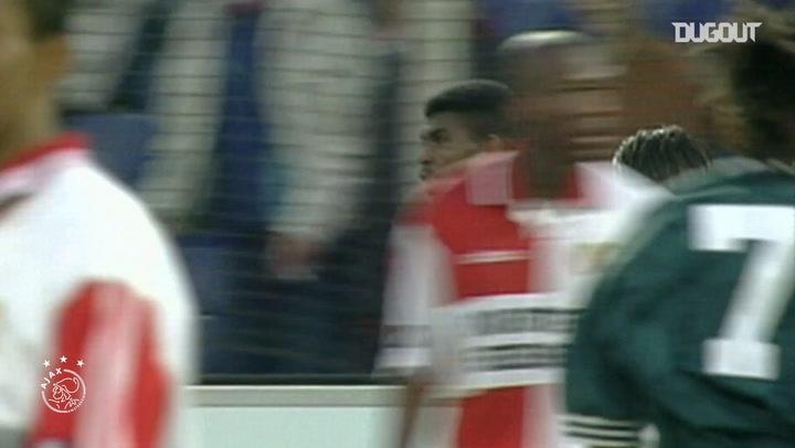 Nwankwo Kanu's sublime solo-finish against Feyenoord