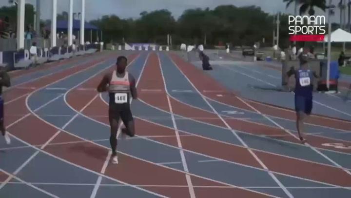 """Bromell vuela en Florida con la séptima mejor marca de la historia en 100 metros (9""""77)"""