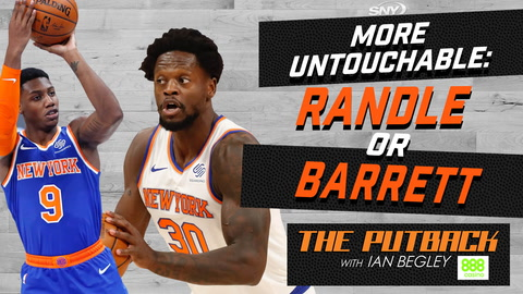 Is RJ Barrett or Julius Randle more untouchable for Knicks this offseason? | The Putback with Ian Begley