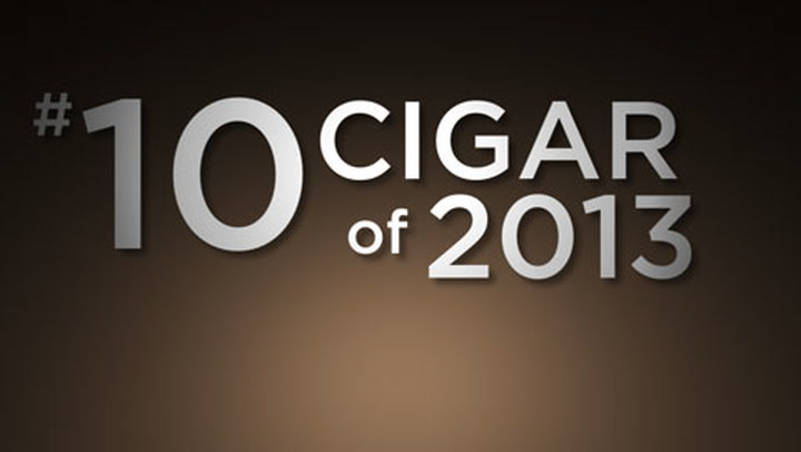 No. 10 Cigar of 2013