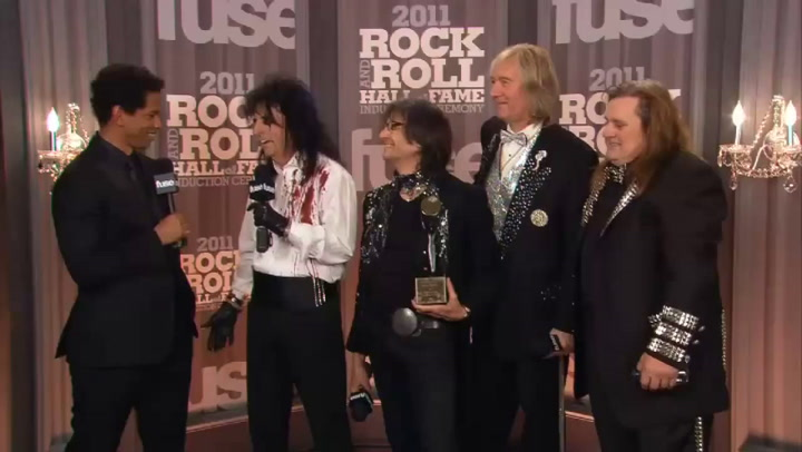 Fuse Presents: Rock Hall: Alice Cooper Interview Part 1 - 2011 Rock & Roll Hall of Fame Induction Ceremony
