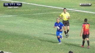 ¡El cuarto llegó! Bryan Moya anota en empate del Zulia en Venezuela