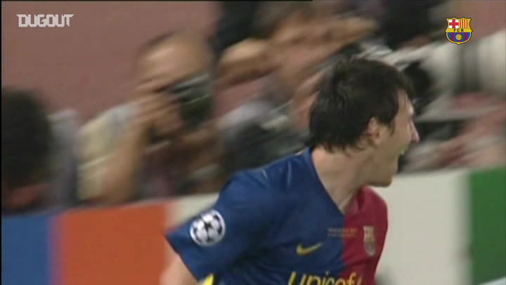 Incredible Goals: Leo Messi Vs Manchester United UCL Final 2009