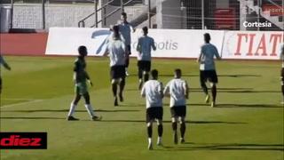 Alfredo Mejía marcó un golazo de volea en victoria de Levadiakos en la segunda división de Grecia