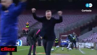 Barcelona sigue vivo en la Copa del Rey tras un gol de último minuto de Piqué