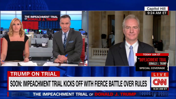 Van Hollen: 'There Is No Vindication in a Fraudulent Trial'