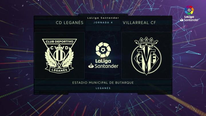 LaLiga (J4): Resumen y goles del Leganés 0-3 Villarreal
