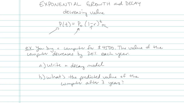 Exponential Growth and Decay - Problem 5