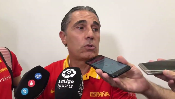 """Sergio Scariolo: """"Hemos jugado un mal partido y ahora hay que pensar en el siguiente"""""""