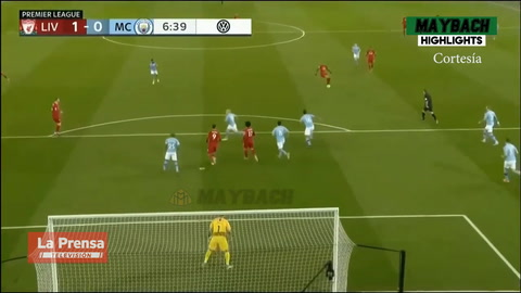 Liverpool 3-1 Manchester City (Premier League)