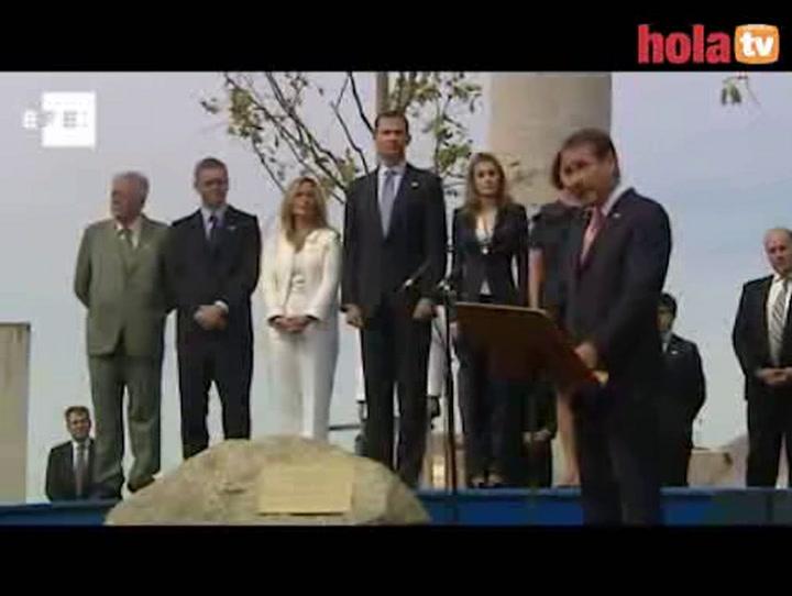 Los príncipes de Asturias homenajean a víctimas del terrorismo en el aniversario del 11-S