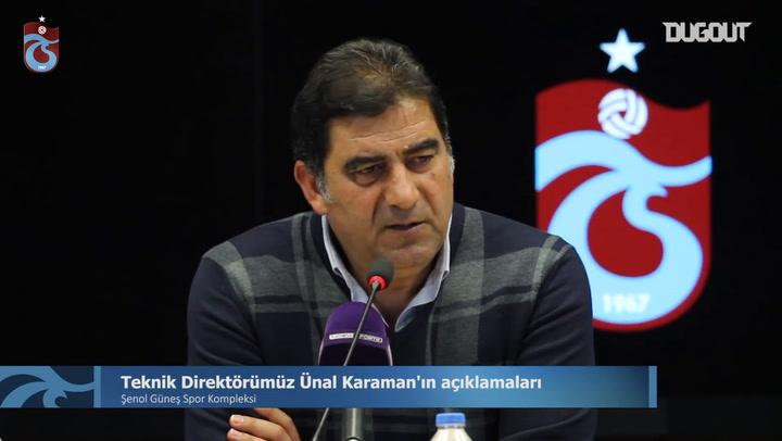 Ünal Karaman Denizlispor Mağlubiyetini Değerlendirdi