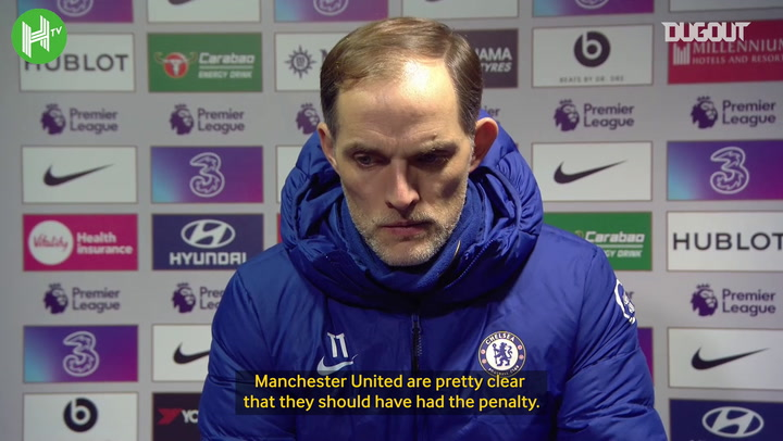 Thomas Tuchel disagrees with Manchester United penalty claims
