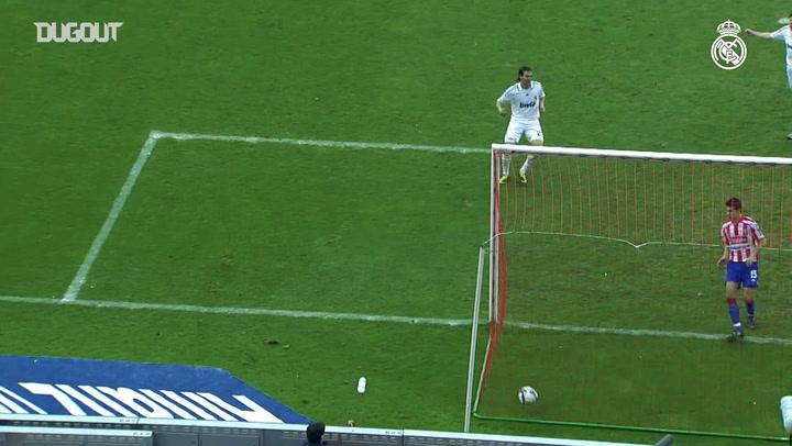 El primer gol de Marcelo en el Real Madrid