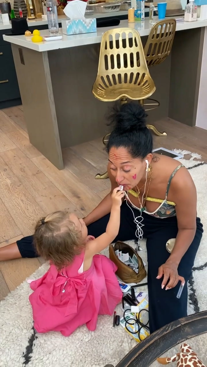 Tracee Ellis Ross receives the most unexpected makeover