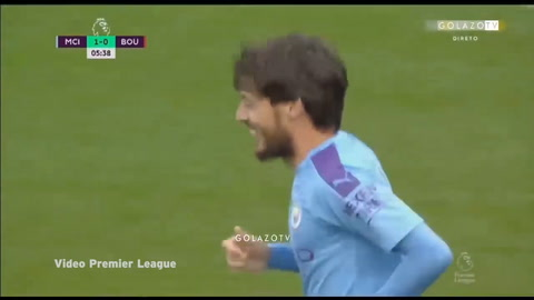 Manchester City 2-1 Bournemouth (Premier League)