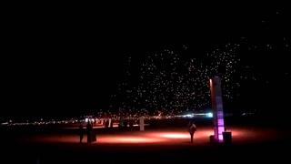 Time lapse of RiSE Las Vegas festival – VIDEO