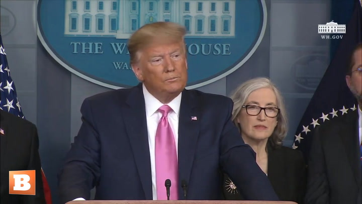 President Trump Holds Coronavirus Press Conference