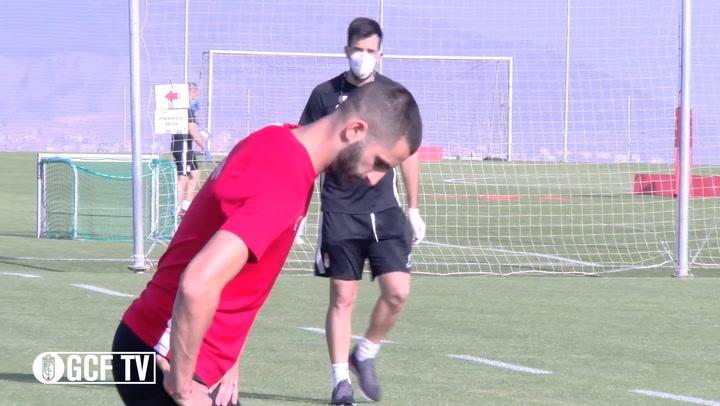 El Granada regresa a los entrenamientos tras 57 días de parón