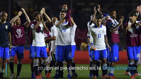 Brasil golea 3-0 a Bolivia en apertura de la Copa América