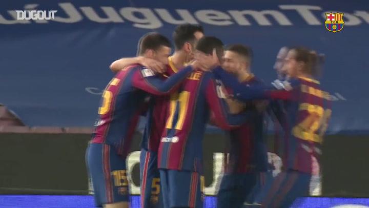 Veja os gols e bastidores da classificação do Barcelona para final da Copa do Rei