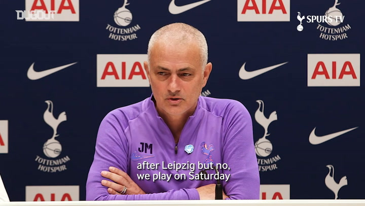 Mourinho: 'It's a difficult week for us'