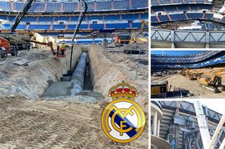 Así marcha la remodelación del Santiago Bernabéu