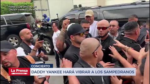 Daddy Yankee ya está en San Pedro Sula