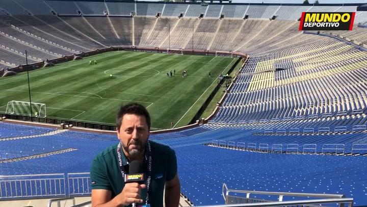 La previa del Barça - Nápoles en Michigan