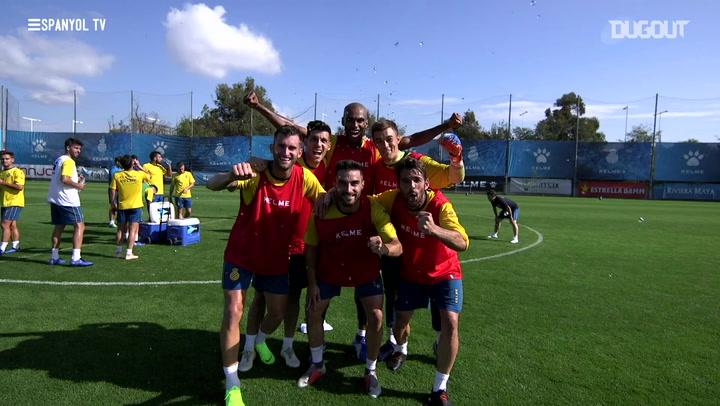 Inside Training: Espanyol Keep Working