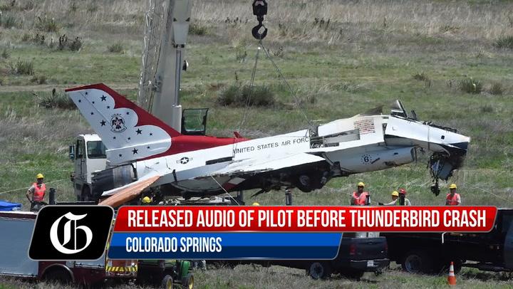 Audio Of Thunderbirds Pilot Just Before Crash In Colorado Springs-5051059791001