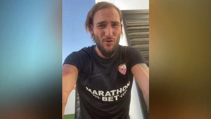 Gudelj confirma que el positivo por coronavirus del Sevilla es él