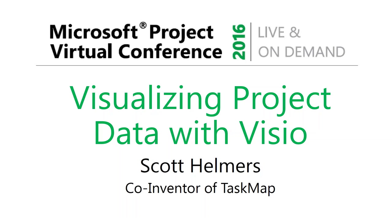 Visualizing Project Data with Visio | MPUG