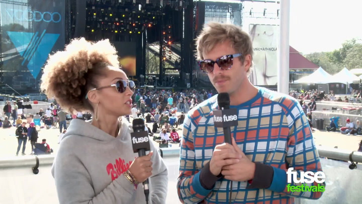 Interviews: AWOLNATION at Voodoo 2014