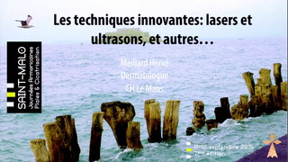 Techniques innovantes : laser & ultrasons