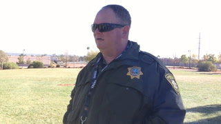 Las Vegas police now using drones