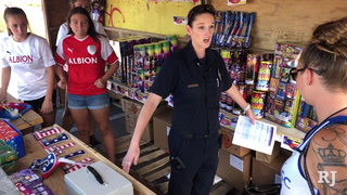 Clark County Fire inspects fireworks booths